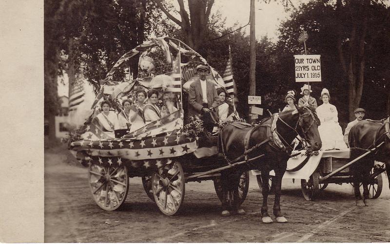 East Longmeadow 1915 Parade