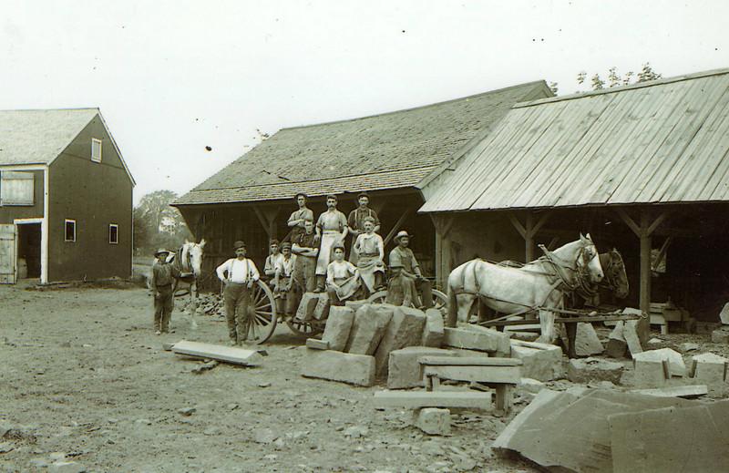 East Longmeadow quarry 1902 2