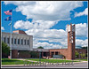 Pictured is the Eaton County Courthouse / Adminsitrative Complex in Charlotte Michigan. This building was constructed in the mid 1970's and opened in 1976.