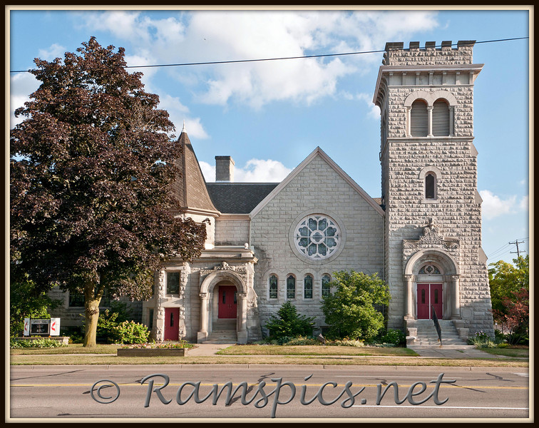 Lawrence Avenue Methodist Church, Charlotte Michigan 2011.