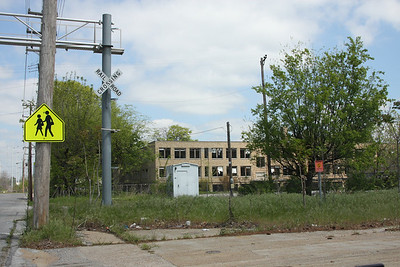 An area near the old Firestone factory in North Memphis, just south of Frayser.