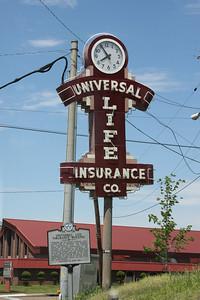 Universal Life Insurance Company, located near downtown Memphis.