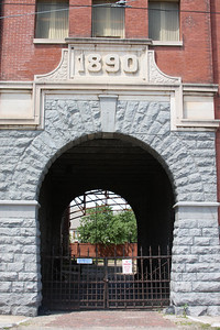 A older building located just south of downtown Memphis.