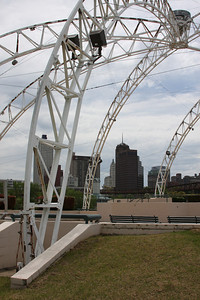 Mud Island once hosed the Memphis Belle, parts of the pavilion still exists.