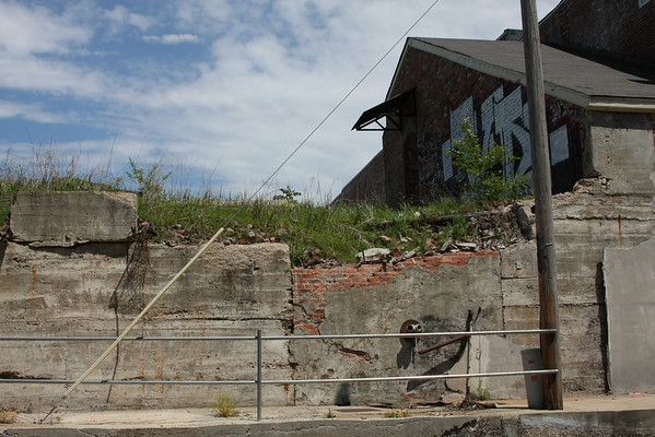 An area south of Beale Street in Memphis.