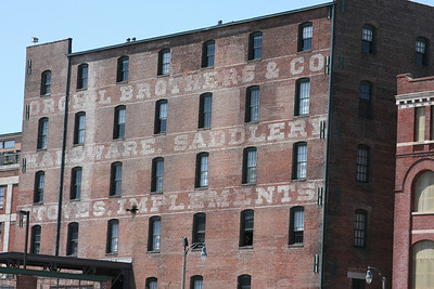 Orgill Brothers & Company, hardware, saddlery, stoves, implements building located just South of downtown Memphis.
