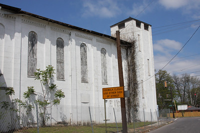 The Brick Church, located north of downtown Memphis.