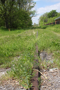 Abandoned railroad tracks, located off highway 51 in North Memphis between downtown and Frayser area.