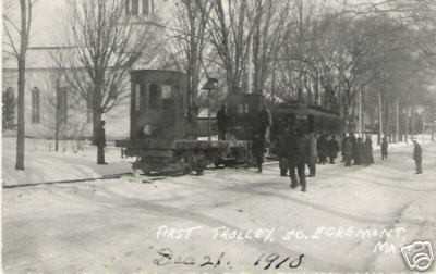South Egremont 1910 First Trolley