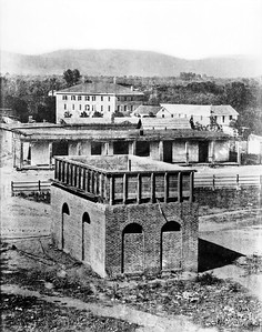 1890, City Water Reservoir in Plaza