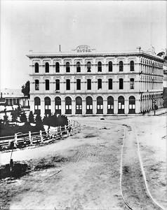 1878, Pico House and Plaza