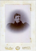 "Page 33<br /> ""Mrs. Proues""<br /> Oversize Cabinet Card, Tait & Co., Bowmanville, Ont."