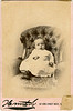 "Page 15<br /> ""Daisy Foster"" ""Lister""<br /> en verso - ""With love from Baby Foster""<br /> Cabinet Card, Hunter Co., 107 King Street West, Toronto"