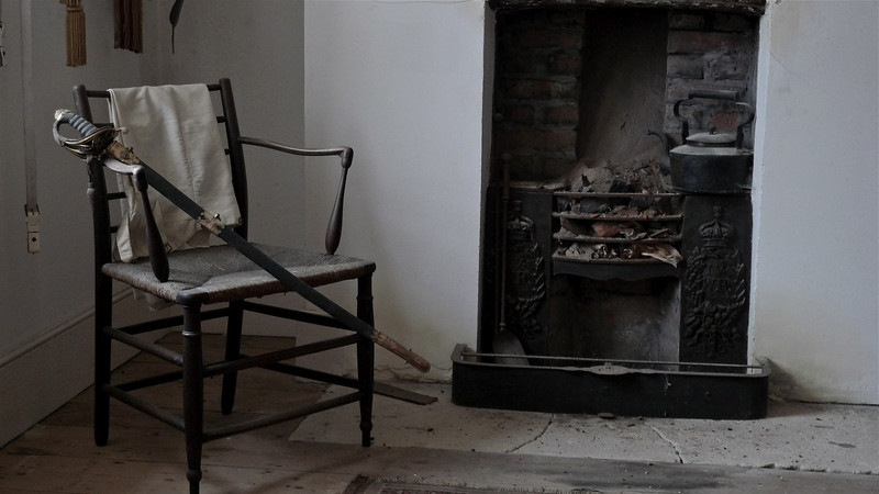 Soldier's chair