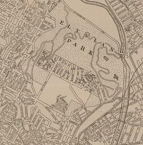 1923, Elysian Park Map