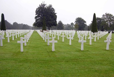 View of American Cemetary