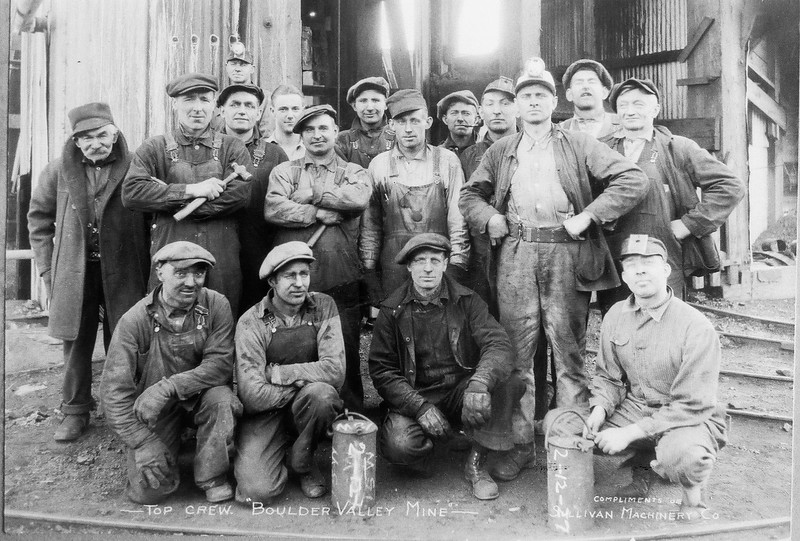 Crew of Boulder Valley Mine