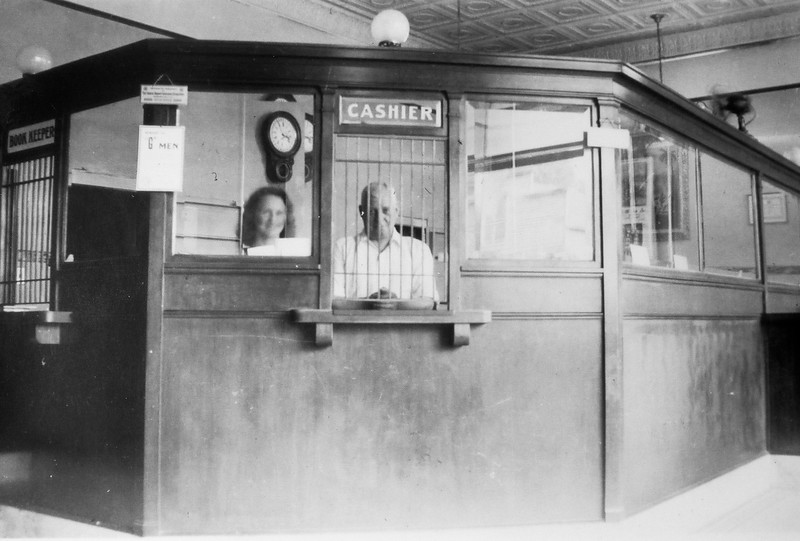 William Whiles, bank cashier in 1911