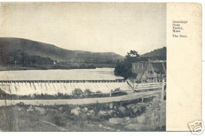 Erving Dam in early Farley