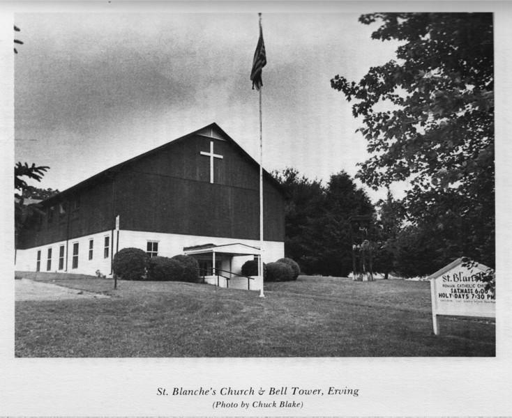 Erving St Blanche's Church