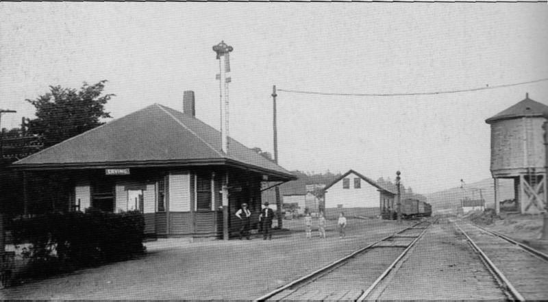 Erving RR Station 1912