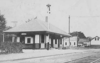 Erving RR Station