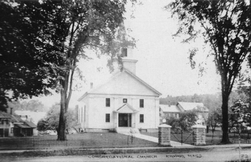 Erving Congregational Church 1916