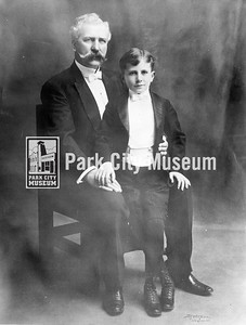 David Keith, Silver King Mine owner, and son, David Keith II. Circa 1900. (Image: 1986.24.1, Betty Keith Collection)