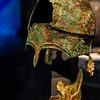 Bronze Helmet 5th - 4th c. B.C.<br /> HERACLEION<br /> and<br /> Bronze Helmet Cheek-Piece