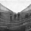 Cigar Raft Cradle  Columbia River 1905 Rafts Towed to San Diego Mill