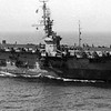 USS Shamrock Bay C V E 84  Built Portland Oregon Outfitted Astoria Oregon  1944 Picture taken June 1945 Formosa Taiwan  Wild Cat Fighter Planes on Deck