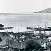 Astoria Oregon,Left,CRPA Elmore Cannery,Later Bumble Bee,Right,Van Camp Cannery,Both Burned,Pic Taken 1942,