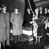 MR Chessman  December 10  1947 Launching  Albina Engine and Machine Works Portland   Ferry For  Astoria Megler Run