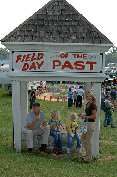FIELD DAY of THE PAST<br /> OILVILLE,VA. <br /> Whitaker family.