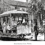 PALATKA AND HEIGHTS STREET RAILWAY. Courtesy of State Archives of Florida, Florida Memory, http://floridamemory.com/items/show/11003