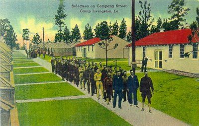 Camp Livingston and Miscellaneous Training