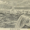 """""The Falls of St. Anthony ... This is a old school wood etching of Minneapolis showing the first Hennepin Avenue Bridge (1854-1876) over the Mississippi River."""" <br /> The above text and image credit webpage: <br /> <a href=""http://stuffaboutminneapolis.tumblr.com/post/88819328/the-falls-of-st-anthony-this-is-a-old-school"">http://stuffaboutminneapolis.tumblr.com/post/88819328/the-falls-of-st-anthony-this-is-a-old-school</a> __ (accessed 11-dec-2013)"
