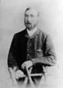 Edward Ashton (1850-1918)<br /> circa 1885<br /> from copy of photographs