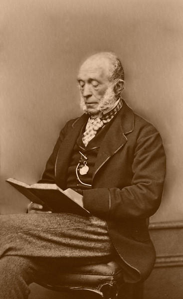 Dr. Andrew Robertson 1799 - 1881<br /> Albumen Print Circa 1875 by George Washington Wilson, Aberdeen, Scotland<br /> Physician to Queen Victoria<br /> Factor of Balmoral
