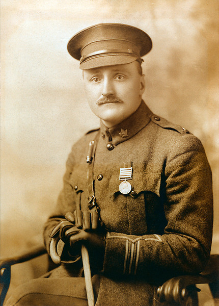 "Edward James ""Jim"" Ashton<br /> 1879 - 1965<br /> Dec 1914, Winnipeg, Manitoba<br /> Major, 32nd Battalion CEF<br /> Photo Courtesy Mary Butler Bush"