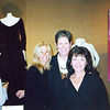 Professor Marilyn Ryder, center and Professor Carol Pingatore, right