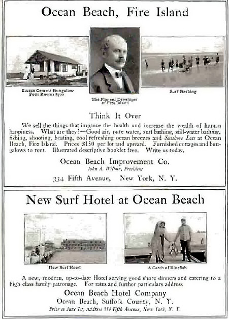 Ocean Beach, Bungalows $700, 1912