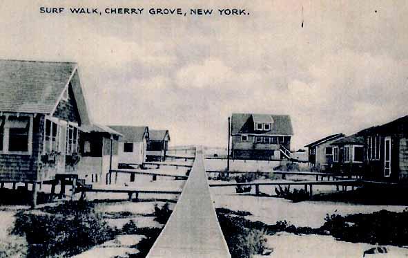 Surf  Walk, Cherry Grove, ca. 1940s