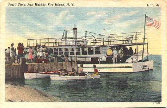 Fair Harbor dock, ca. 1940s