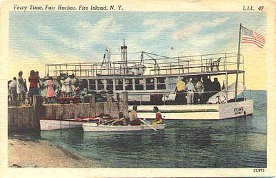 Fair Harbor dock, ca. 1940s
