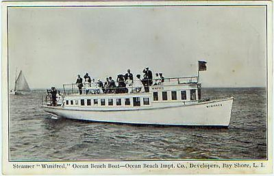 "Steamer ""Winifred"", Ocean Beach Ferry, 1910"