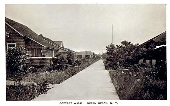 Cottage Walk, Ocean Beach, 1927