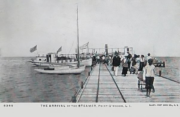 Point O'Woods dock, 1909