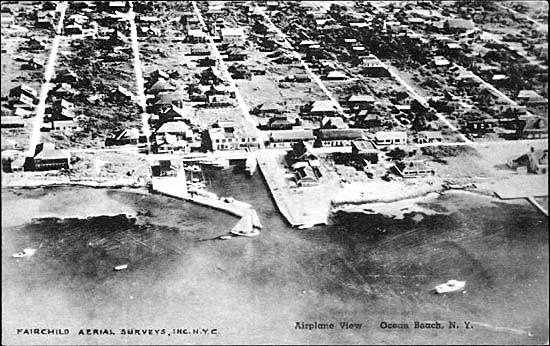 Ocean Beach aerial view, ca. 1930s