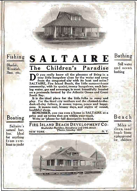 "Saltaire, ""The Children's Paradise"", 1912"